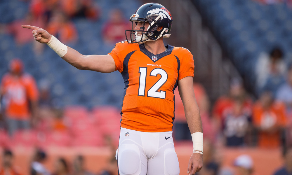 Denver Quarterback Paxton Lynch